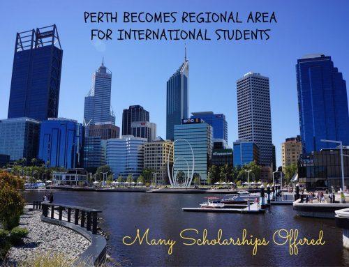 Perth menjadi Area Regional untuk Mahasiswa Internasional: Banyak Beasiswa yang Ditawarkan