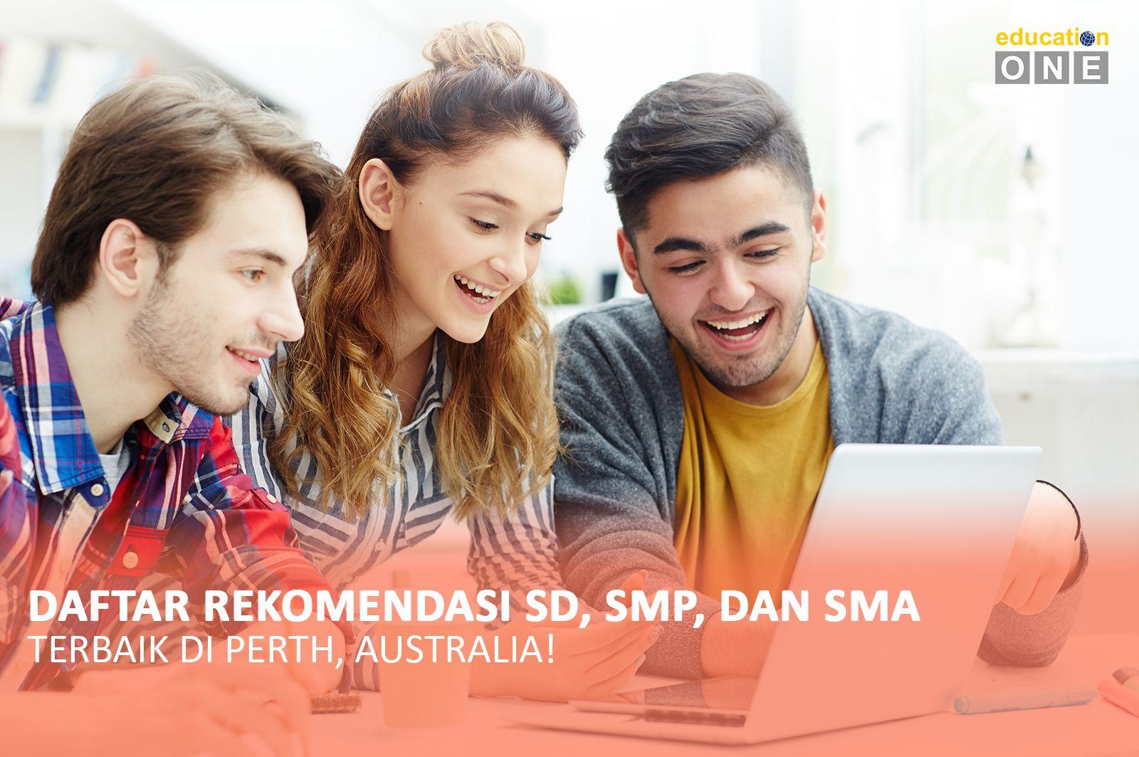 Daftar Rekomendasi SD, SMP, dan SMA Terbaik di Perth, Australia
