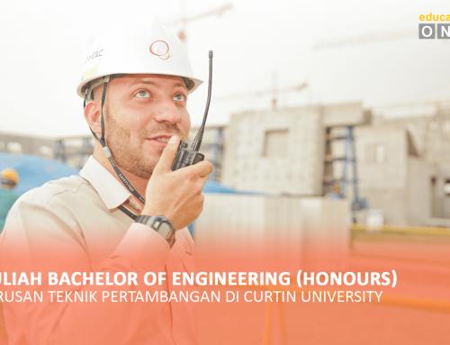 Kuliah Bachelor of Engineering (Honours) jurusan Teknik Pertambangan di Curtin University
